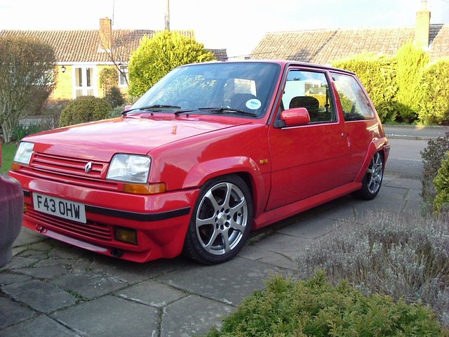 renault 5 gt turbo for sale page 2 subaru enthusiast forum. Black Bedroom Furniture Sets. Home Design Ideas